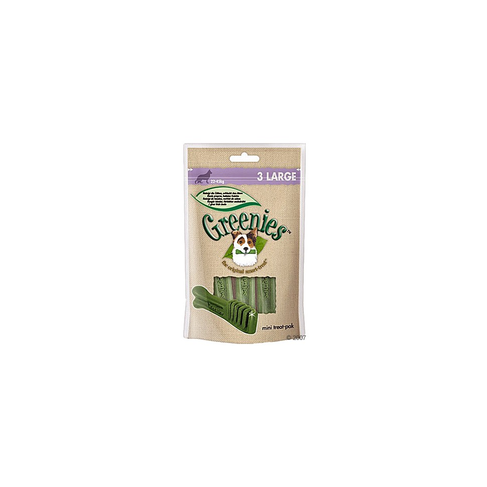 GREENIES Large Pack de 3 (Perros de 22 a 45 kg.)