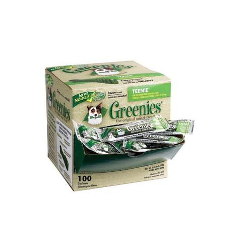 GREENIES Teenie 100 Unidades (Perros de 2 a 7 kg.)