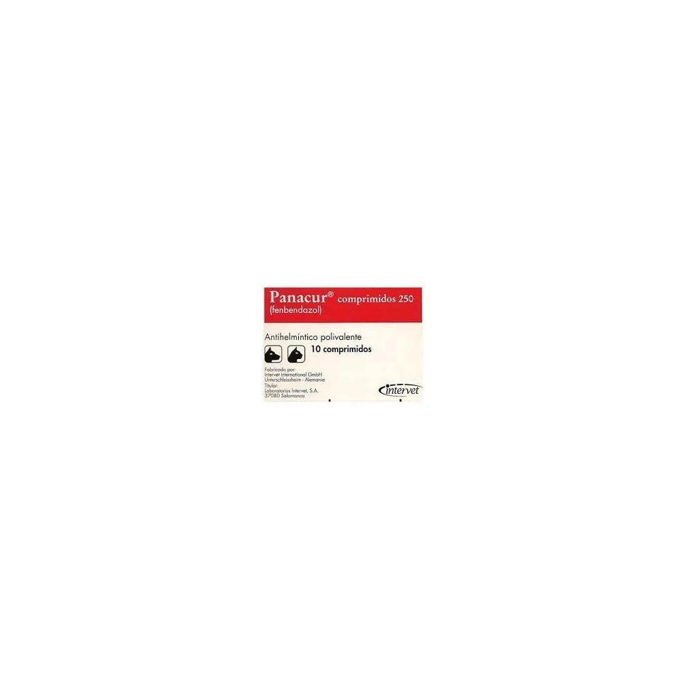 Panacur 250 mg. 10 compds
