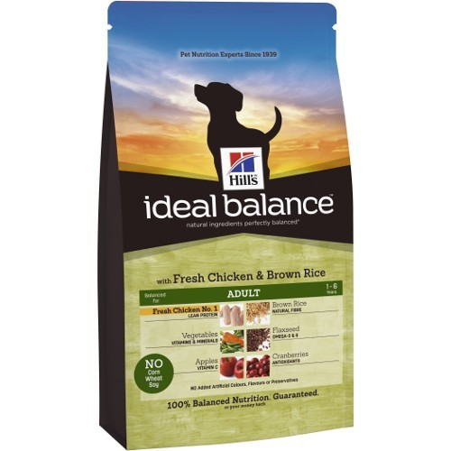 Ideal Balance Adult com frango e arroz