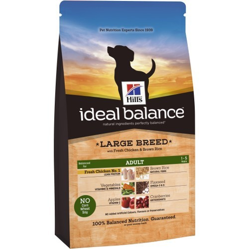 Ideal Balance Large Breed com frango e arroz