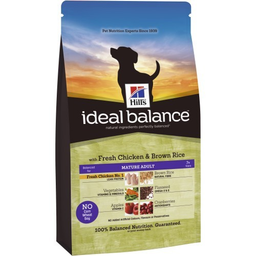 Ideal Balance Mature Adult con pollo y arroz