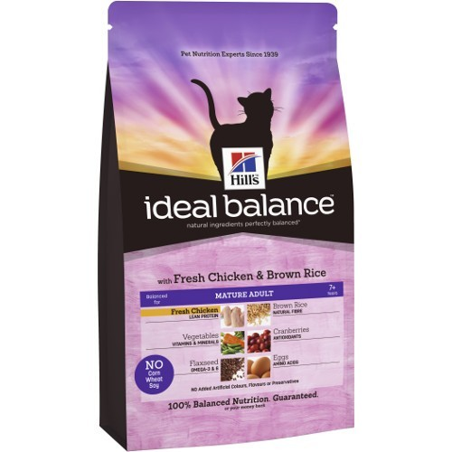 Ideal Balance Mature Adult com frango e arroz