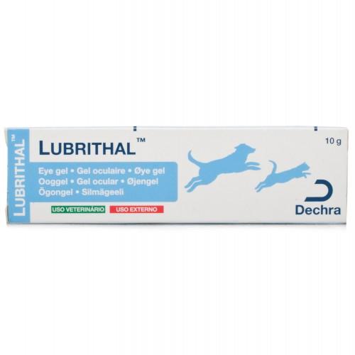 Lubrithal gel ocular