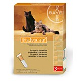 Advocate Cats up to 4 kg 3 pipettes