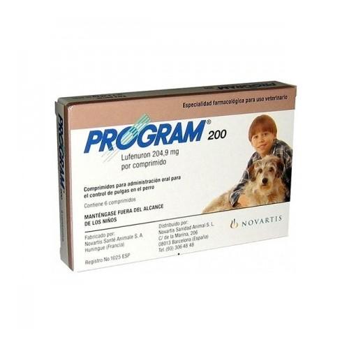 PROGRAM 200 6 comprimidos
