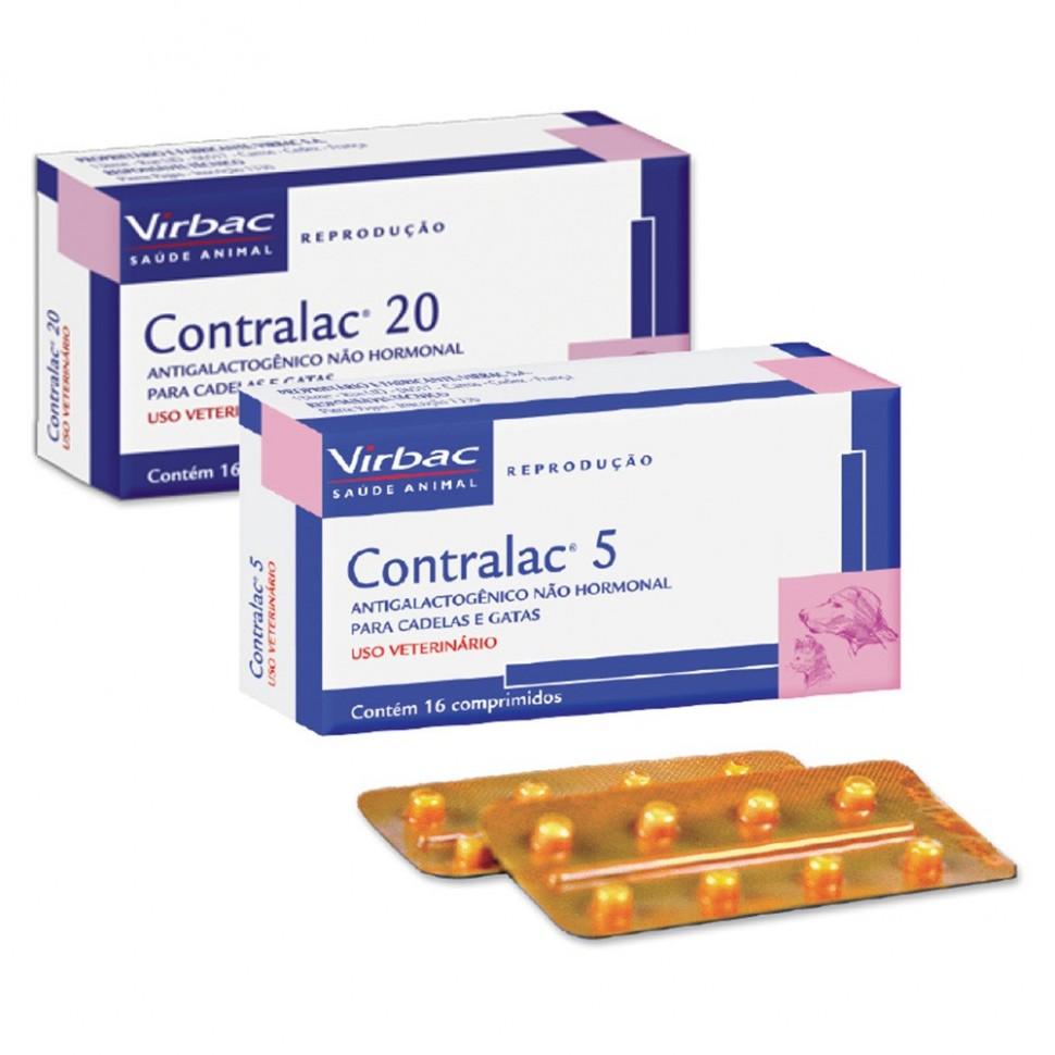 CONTRALAC 5 MG 16 comprimidos