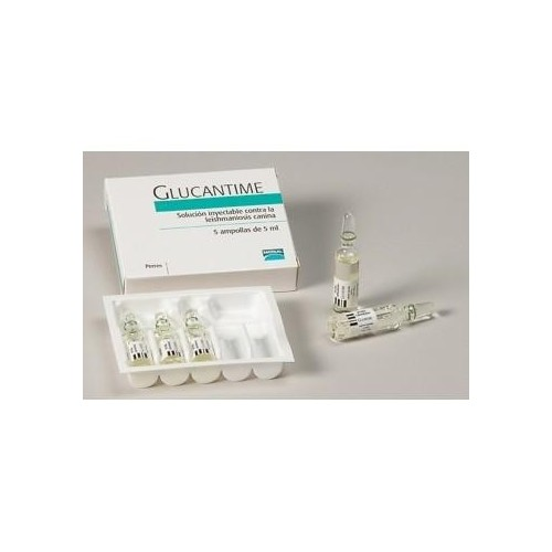 Glucantime 5 ampollas 5 ml