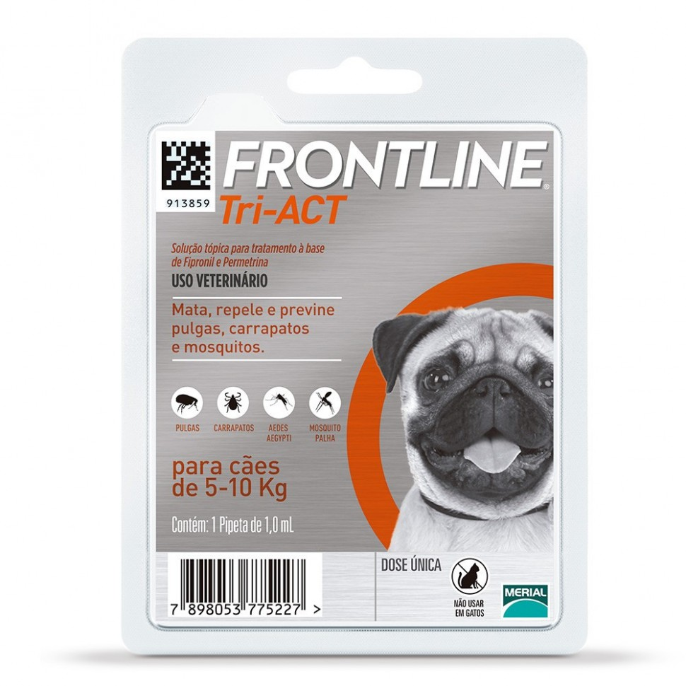 Frontline Tri-Act 5 a 10 kg.