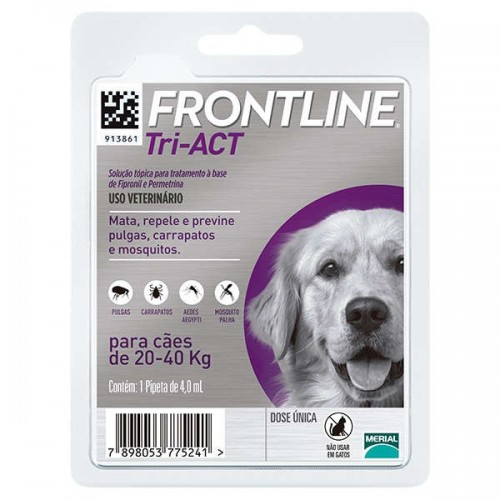Frontline Tri-Act 20 a 40 kg