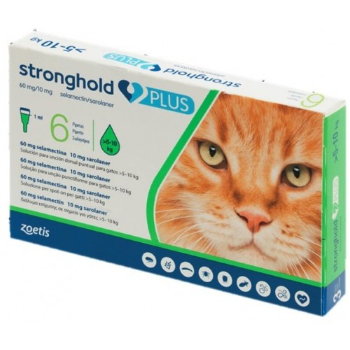 Stronghold Plus 5 to 10 kg.