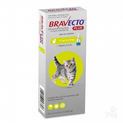 Bravecto Plus small cats