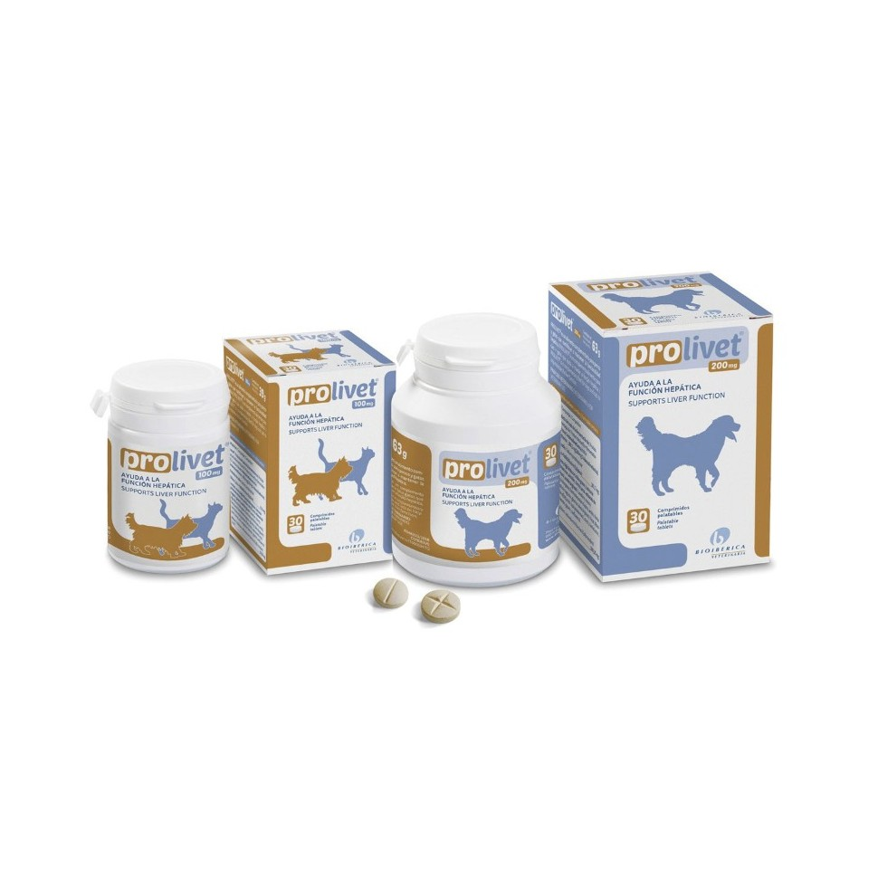 Prolivet 30 comprimidos