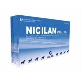 Nicilan 40 mg / 10 mg comprimidos