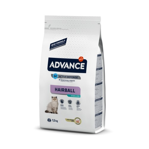 Advance Sterilized HAIRBALL Turkey & Barley