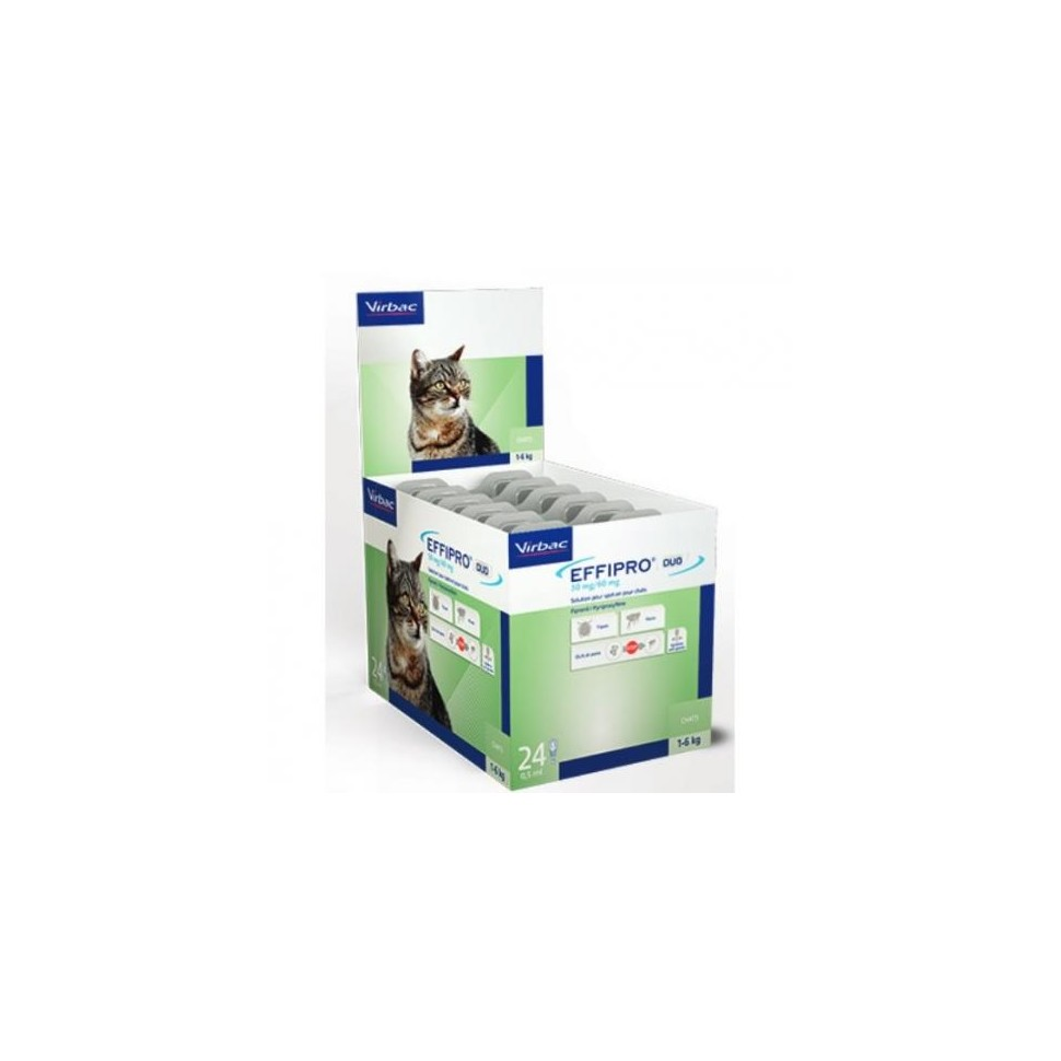 EFFIPRO 50 mg. 4 Pip. Gatos