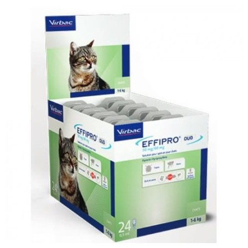 Effipro 50 mg. 60 pipetas gatos