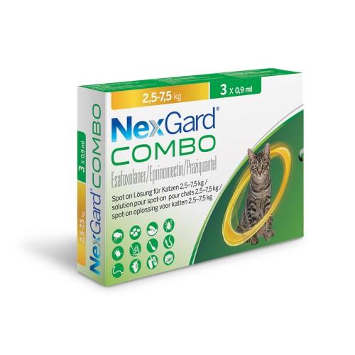 Nexgard Combo cat more than 2.5 kg